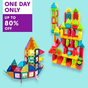 Picasso Tiles up to 80% OFF PLUS extra 15% OFF through our group link