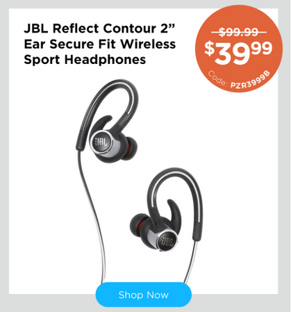 Snag these super high quality JBL Sport Headphones with our PROMO CODE