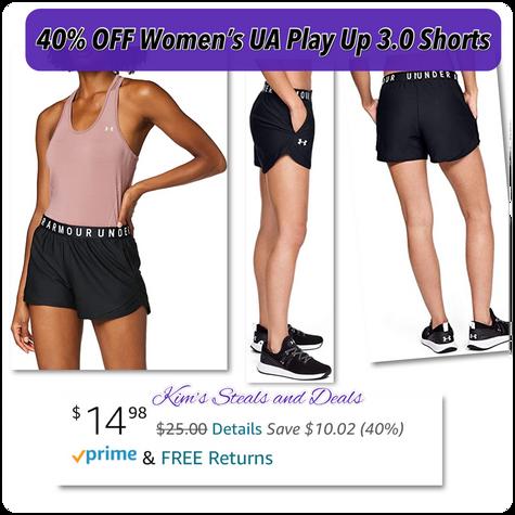 Women's UA Shorts $14.98!!