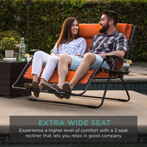 Code Deal on 2 person lounger!