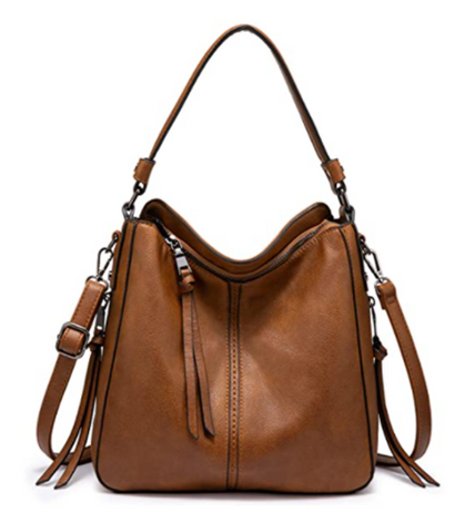 Faux Leather Bucket Purse is 50% off with group code!