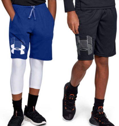 Boys UA Shorts are just $12 (Reg $20)