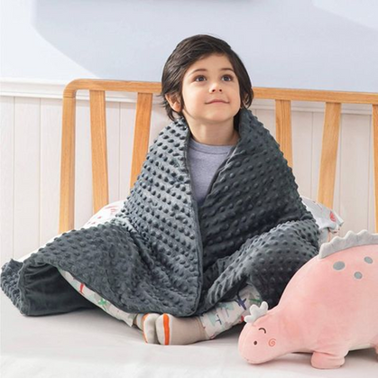 Weighted Kids Blankets drop 55% off w/code