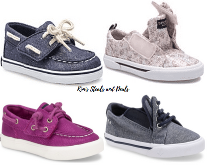 Check this out!! Kids Velcro SPERRYS are 40% OFF! So Cute!!!