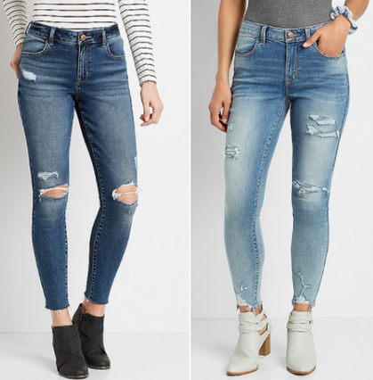 Maurice's Jeggings are ONLY $25 Today!!