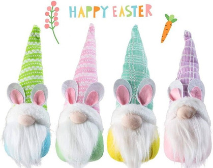 Easter Bunny Gnomes???? Set of 4 drops 50% with group code