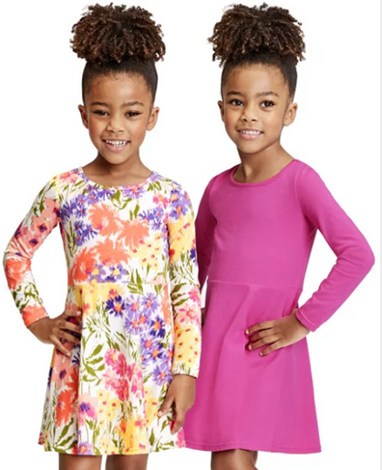2-Pack of Girls Dresses for just $6.78 SHIPPED!!