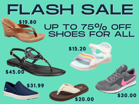 Save Big on Shoes for the Fam TODAY ONLY!