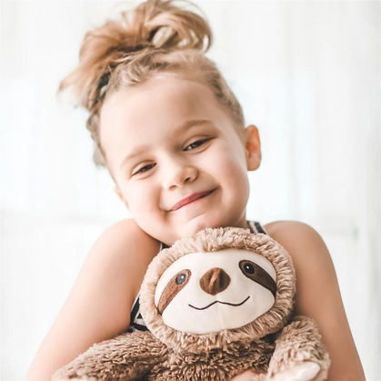 These heatable soft bears smell like lavender to help your littles sleep. Marked down and ship free!