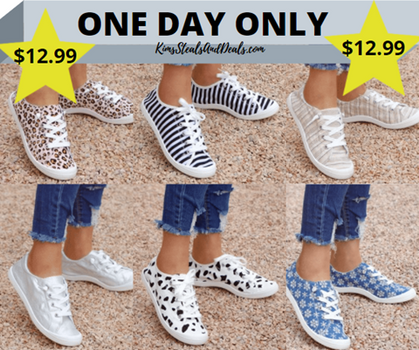 The lightweight Rosy Sneakers are a DEAL today!