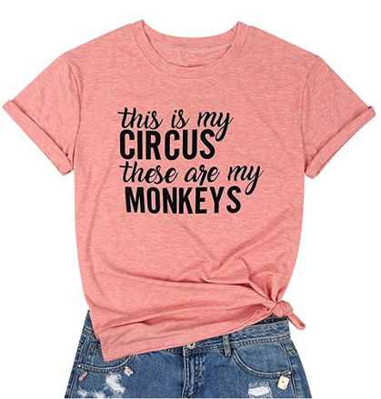 Snag this tee 40% OFF if you run a Circus of Monkeys too!