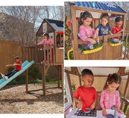 ONE DAY ONLY Score $350 OFF the KidKraft Secret Clubhouse!