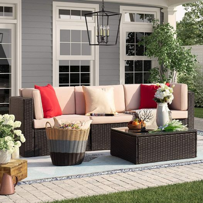 4 Piece Outdoor Patio Furniture set only $299.99!!