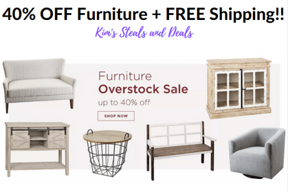 Kirkland's Home Sales!! 40% OFF Furniture Today