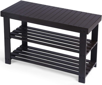 Super sturdy bench/shoe storage around $20 w/code!