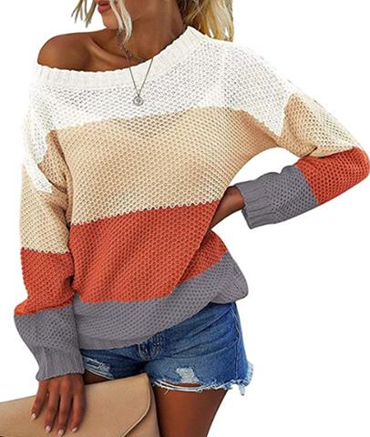 Color-Block Sweater 60% OFF