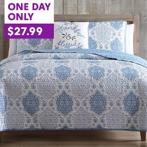4-Piece Quilt Sets are a DEAL!