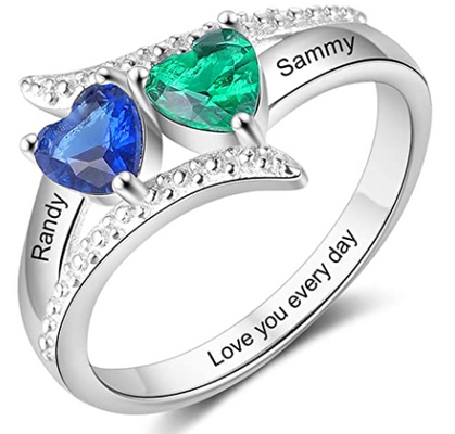 These Personalized Rings are a STEAL! (Mother's Day idea?)