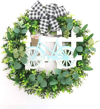 Boxwood Wreath is a double deal ~ markdown + CODE!