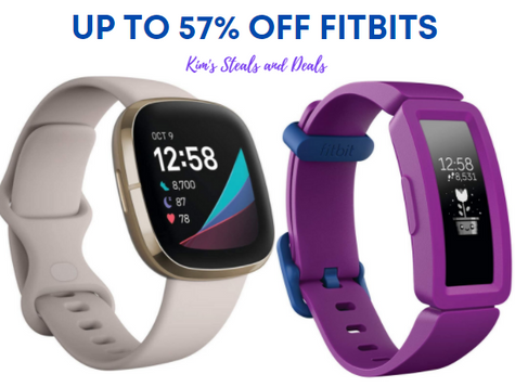 Fitbit Watches up to 57% OFF!!
