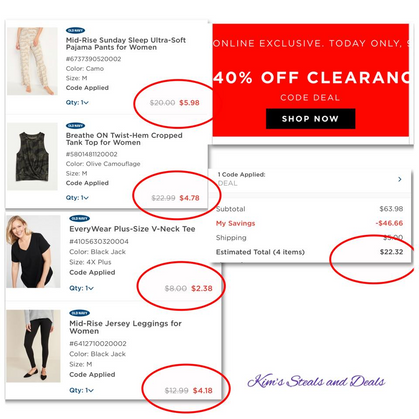 40% OFF Clearance @Old Navy!!