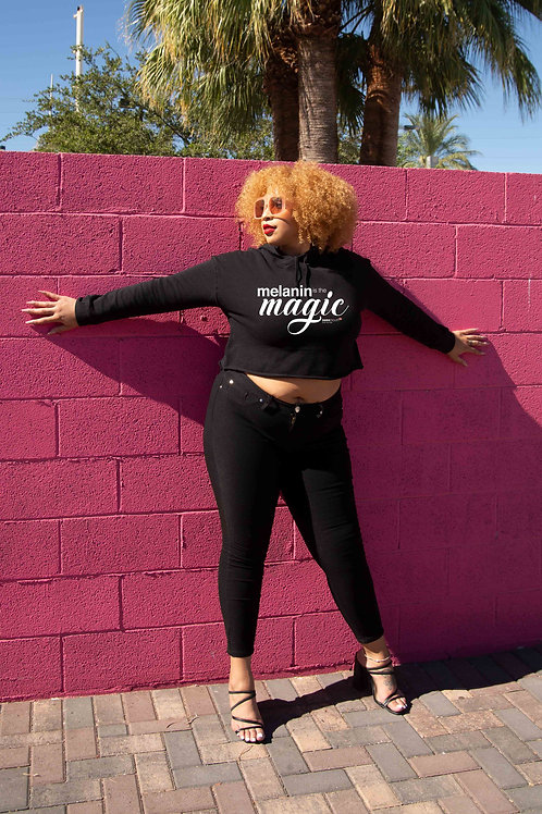 MELANIN Magic Crop Hoodie