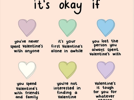How to Handle Valentine's Day Alone or When You Feel Alone?