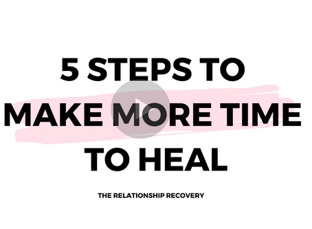 5 Steps to Make Time to Heal