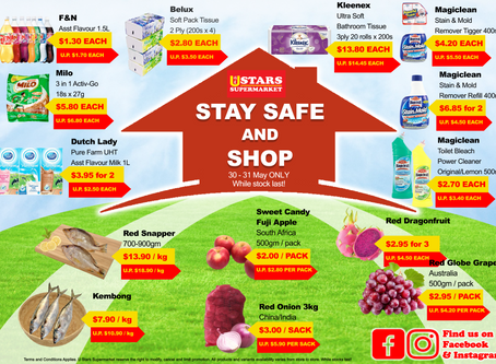 Stay Safe and Shop