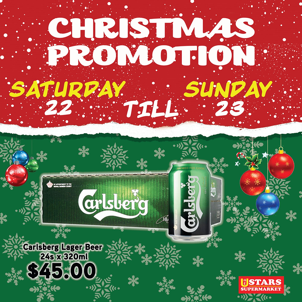 Christmas Promotion for 22nd Dec to 23rd Dec