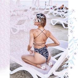 Floral Swimsuit Print