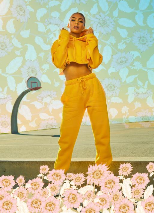 Sunflower Print Jumpsuit