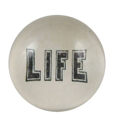 Dome Paperweight - LIFE
