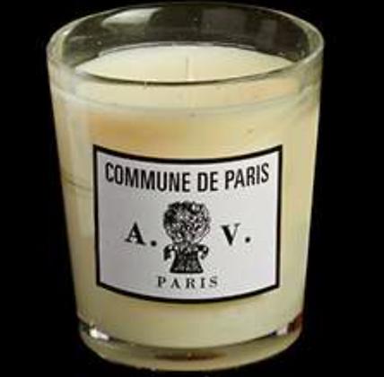 Bougie en verre Commune de Paris