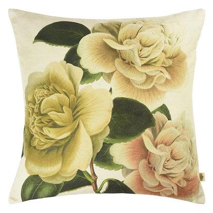 Coussin Camellia Folly Parchment