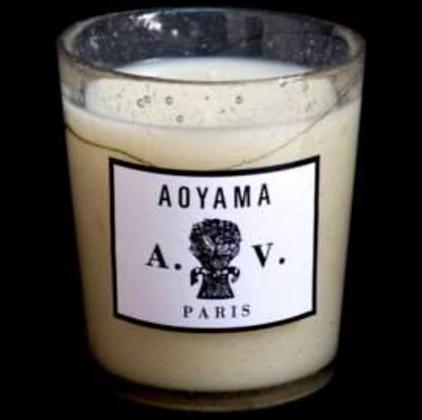 Bougie en verre Aoyama
