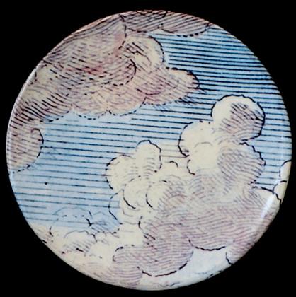 Assiette Plate Nuages - JOHN DERIAN