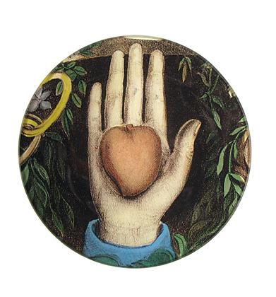 Assiette de décoration - HEART IN HAND