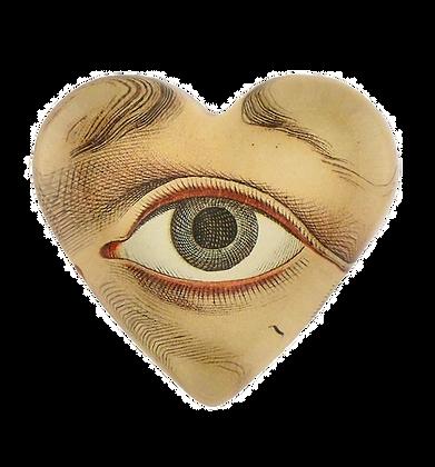 Heart Charm - The Eye