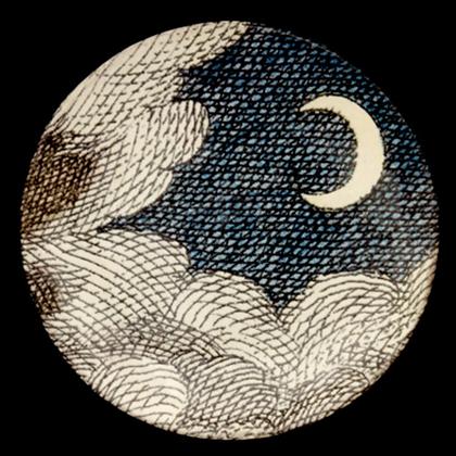 Soucoupe Nuages & Croissant de Lune - JOHN DERIAN
