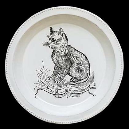 Assiette creuse CAT - JOHN DERIAN