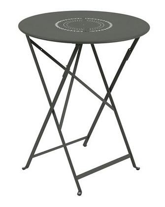 FLORÉAL Table pliante perforée 60cm