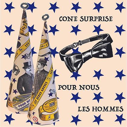 Cône surprise - POUR NOUS LES HOMMES version 2020