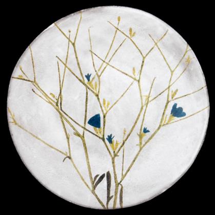 Assiette Chicorium - JOHN DERIAN