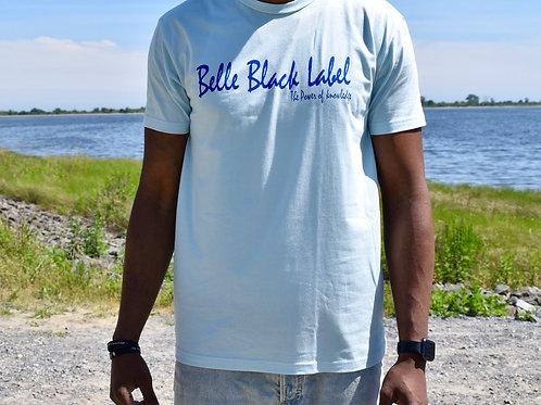 Blue on blue crewneck