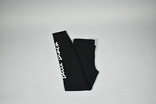 Black & Mint Leggings