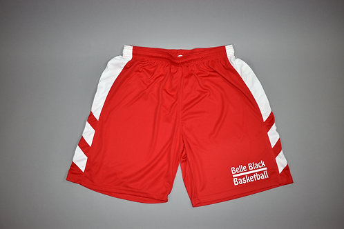 Men's Basketball Shorts red