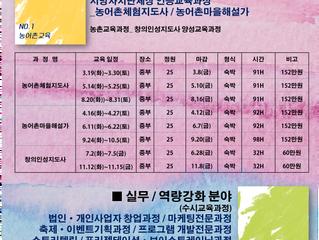 2019년 연간교육과정 안내