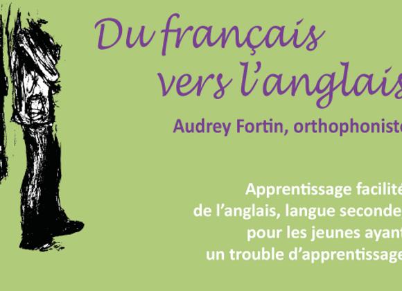 Du français vers l'anglais (1 ordinateur - 20 dossiers)
