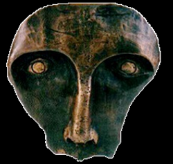 Máscara n. 10  (bronze)